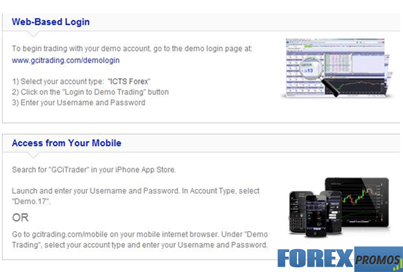 Forex demo account app